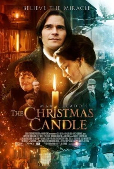 The Christmas candle 1