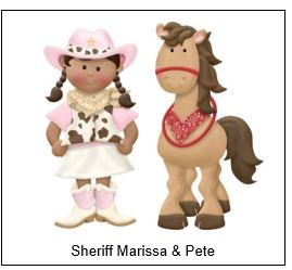 Sherif and horse